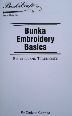 Bunka Embroidery Basics; Stitches and Techniques
