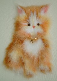 "BC-250 Fluffy Kitten ""Peaches"""